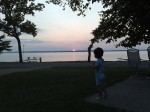 Sunset at Peter\'s Resort