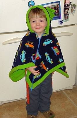 Child Car Seat Poncho Hooded