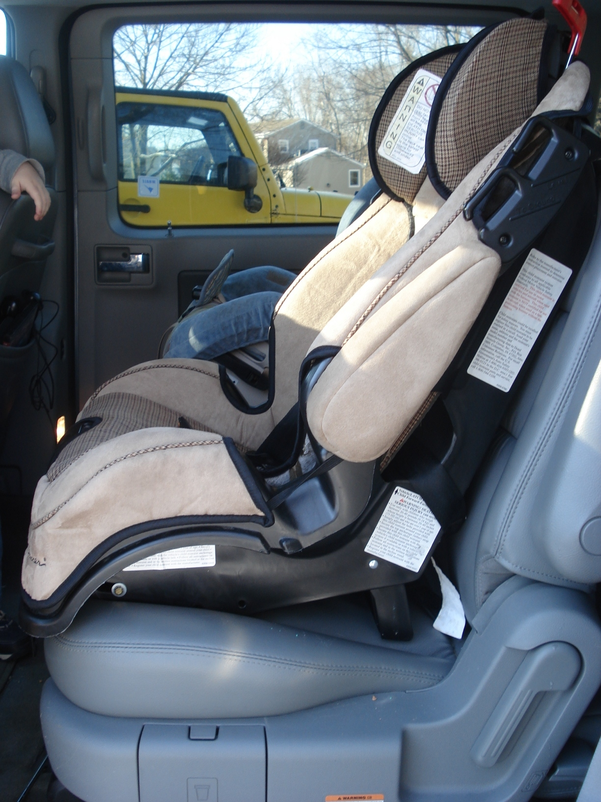 Alpha Omega Car Seat Booster