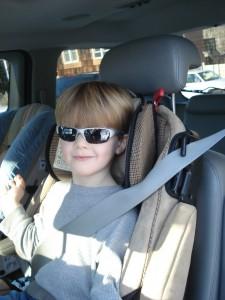 Misuse - headrest too low