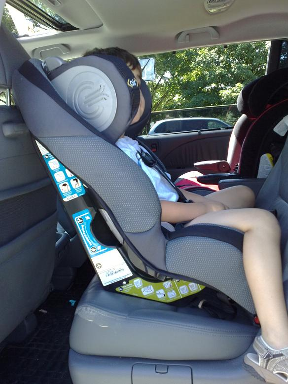 Safety First Air Protect Convertible Car Seat