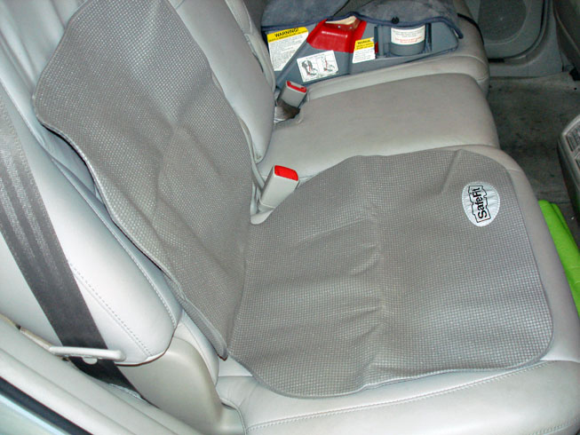 The SafeFit Back Seat Storage With Protector
