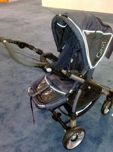 Kiddy stroller frame w stroller seat