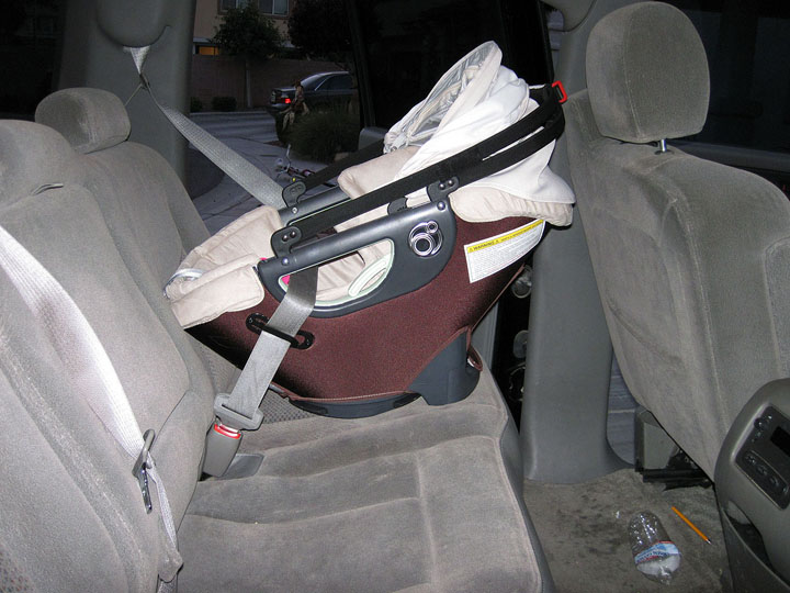 Installing Safety First Car Seat Base