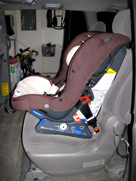 Installation The Orbit Toddler Car Seat