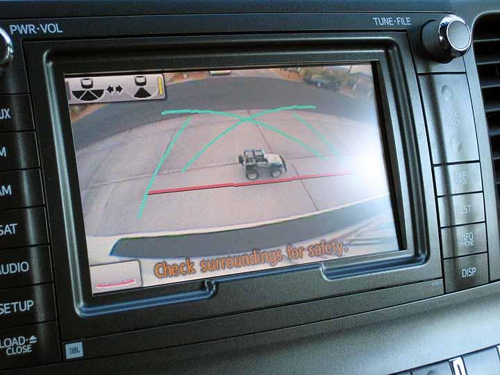 Backup Camera Toyota Sienna