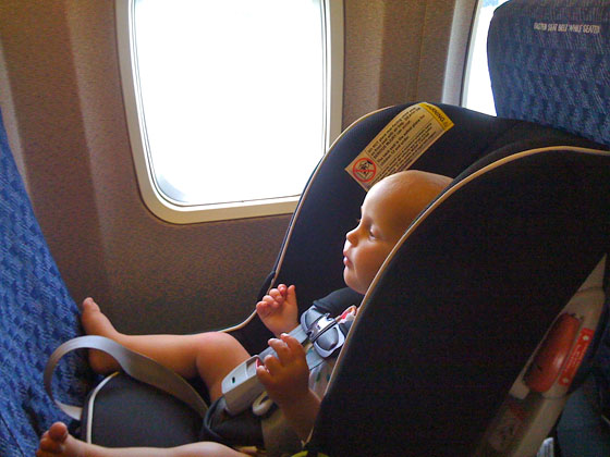 Plane Approved Car Seats