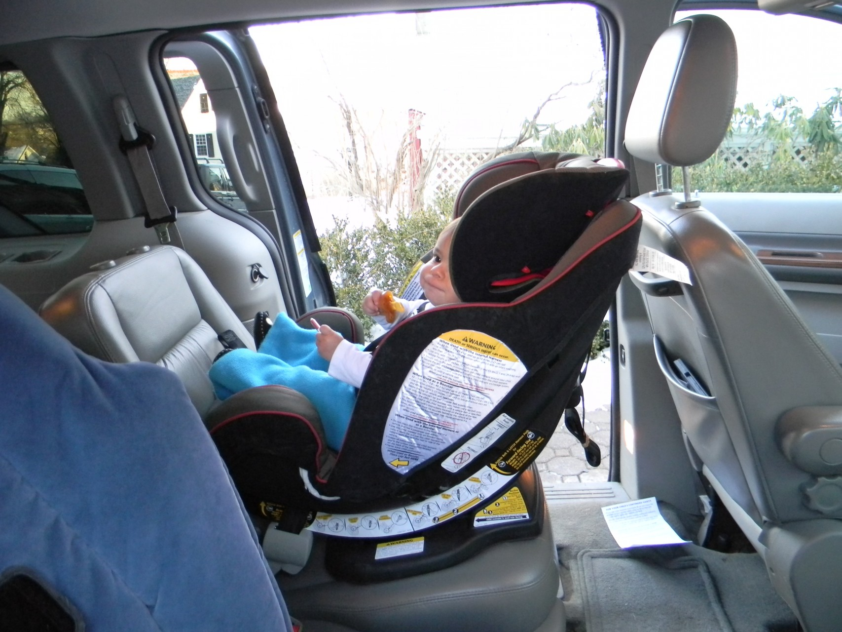 Graco nautilus 3 in 1 multi use car seat - Rear Facing Growing Room Comparison Note Headrests Are Not Adjusted Correctly For This Child But Are Positioned In The Top Rf Position On Both Seats To