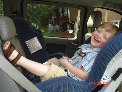 Select your rear facing car seat for 1 yr