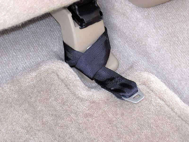 2012 Rav4 Rear Facing Child Seat Tether