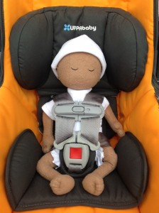 UPPAbaby Mesa with HI preemie doll