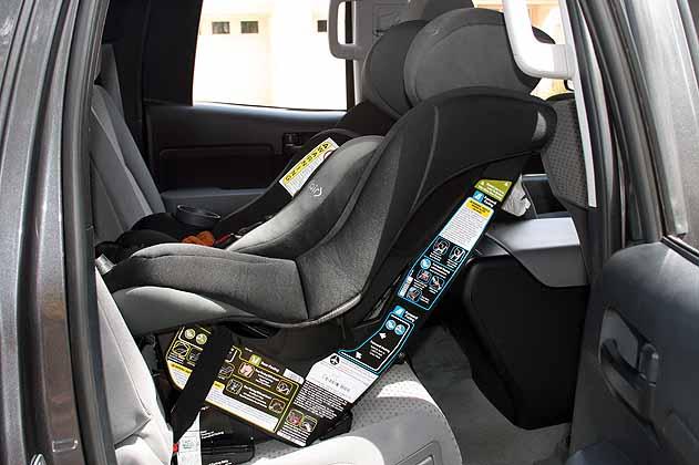Tundra Double Cab Rear Facing Car Seat