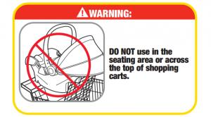 Shopping Cart Safety - Dorel manual