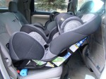 New seat with base takes up more room at full 45* angle compared to original seat w/o base.