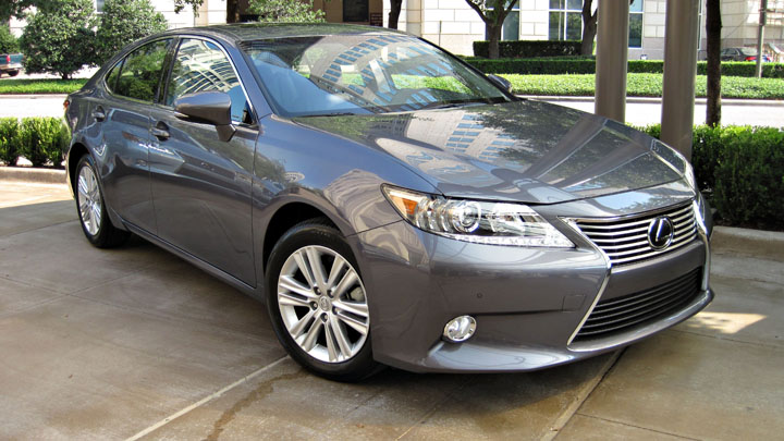 The Lexus ES ...