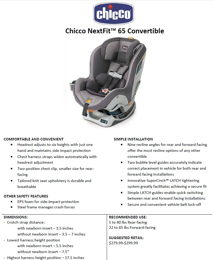 More Info On The Chicco Nextfit Convertible Can Be Found Our Update From Abc Kids Expo