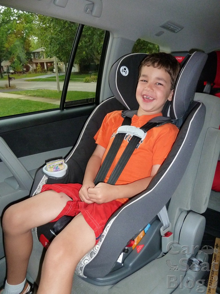 My Size  Convertible Car Seat Booster