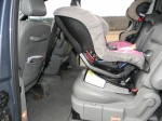 Britax Pavilion - rear-facing tether - Swedish method