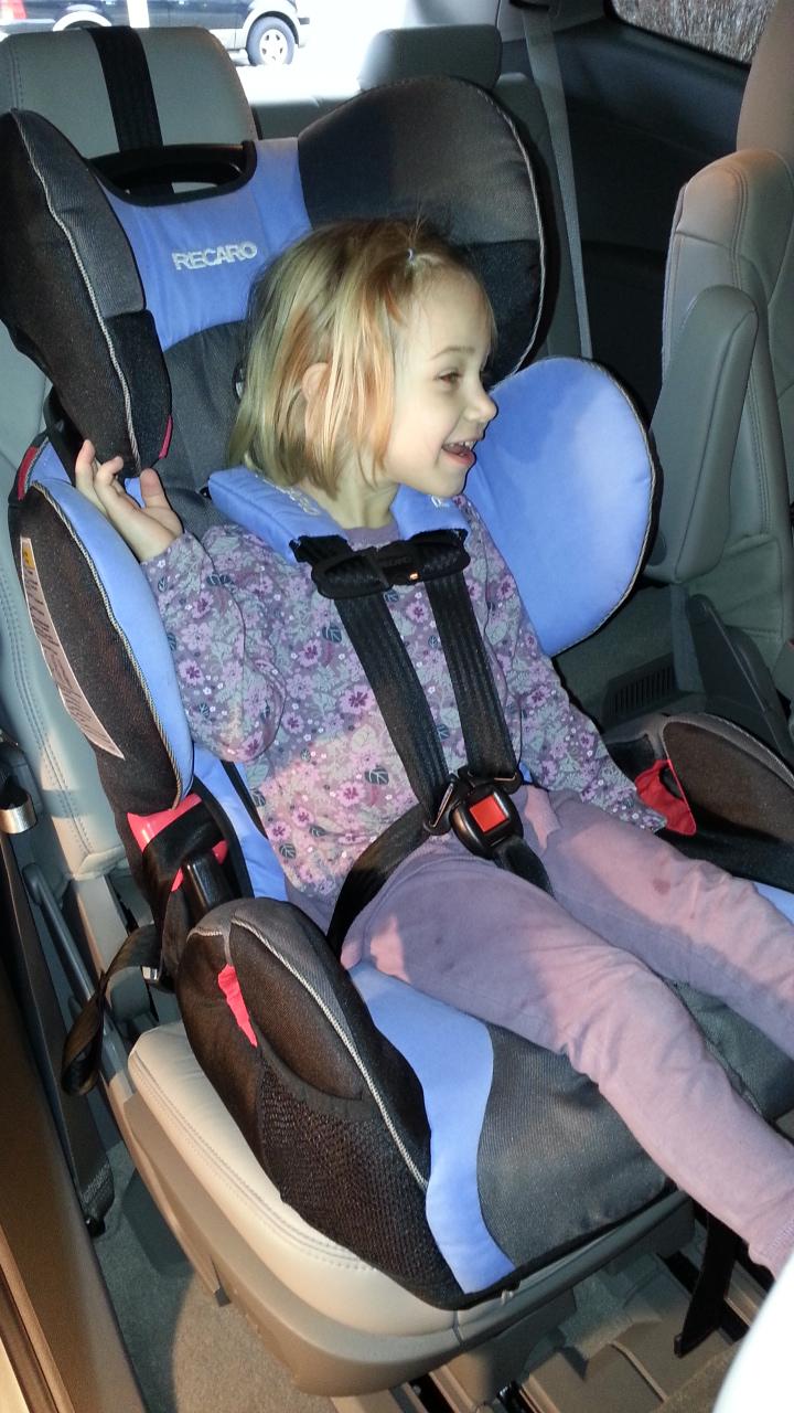 Recaro Prosport Combination Car Seat Rear Facing