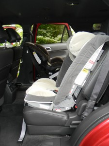 Front Facing Car Seat Strap Position