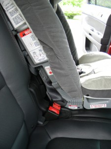 Install Infant Car Seat  Ford Explorer