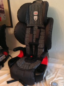 Britax Pioneer 70 belt path