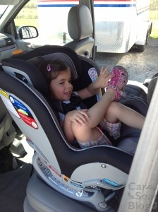 Rear-Facing 3 year old in NextFit
