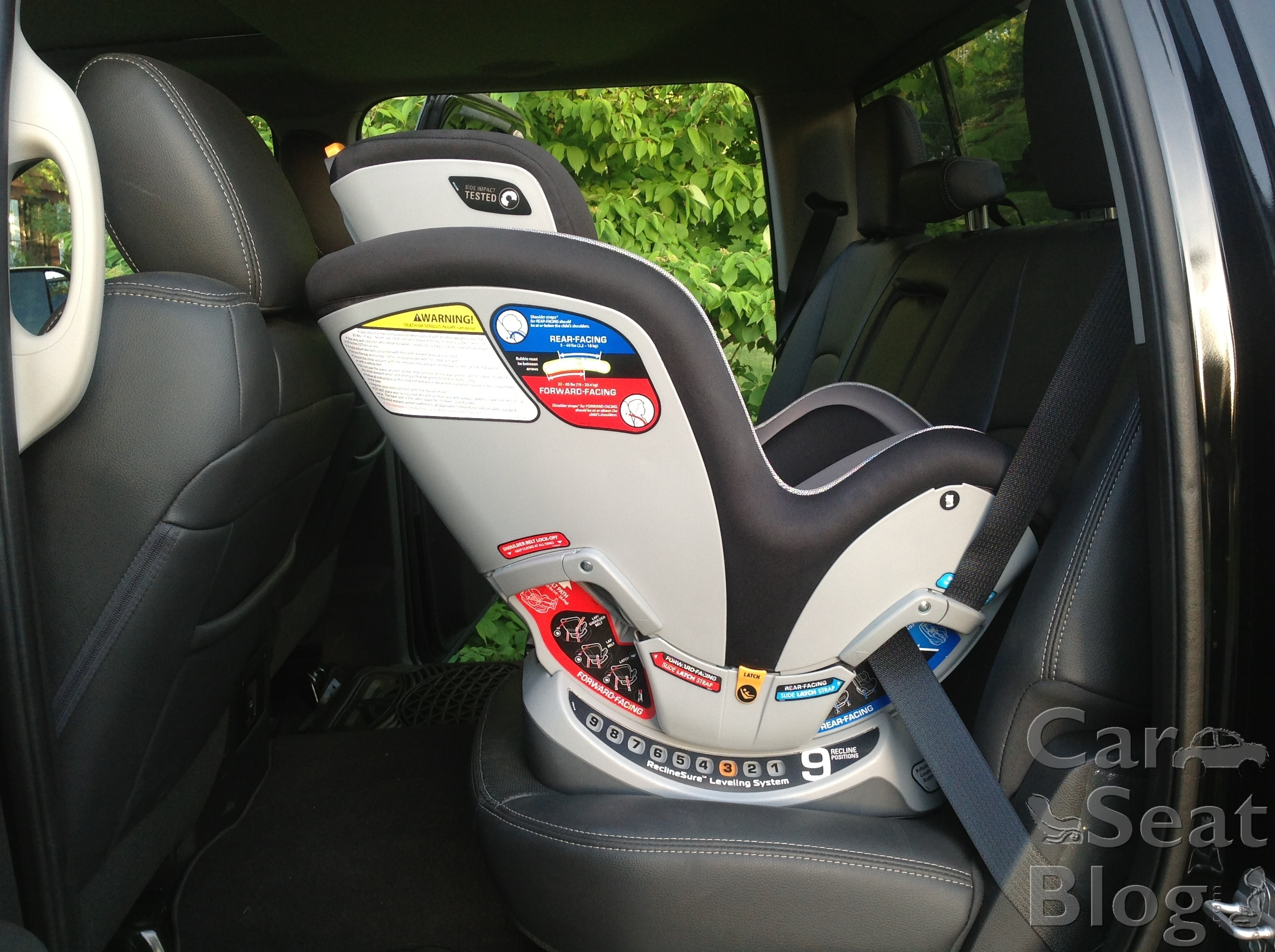 can you put a baby seat in a toyota tacoma. Black Bedroom Furniture Sets. Home Design Ideas