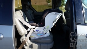 Britax Blvd CT - max recline