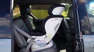 Britax Blvd CT - more upright recline angle
