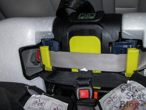 True Fit IAlert rf with seatbelt lockoffs