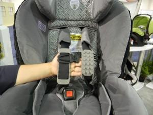 New Britax G4 Convertible Seat HUGS pads