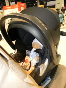 Cybex Aton Q with preemie doll