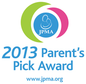 JMPA Parents Pick Award - 2013 logo