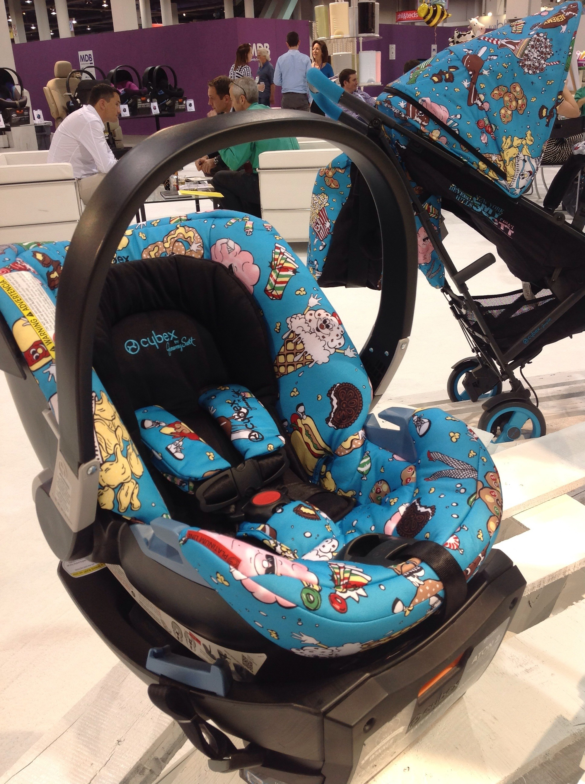 ... Jeremy Scott  Food Fight  Cybex Aton 2 & CarseatBlog: The Most Trusted Source for Car Seat Reviews Ratings ...