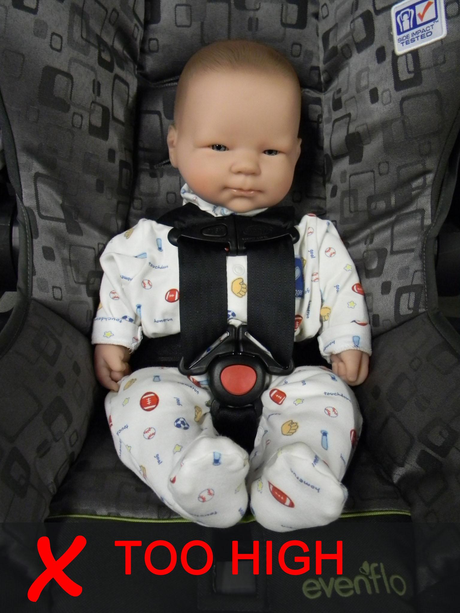 Infant Car Seat Placement