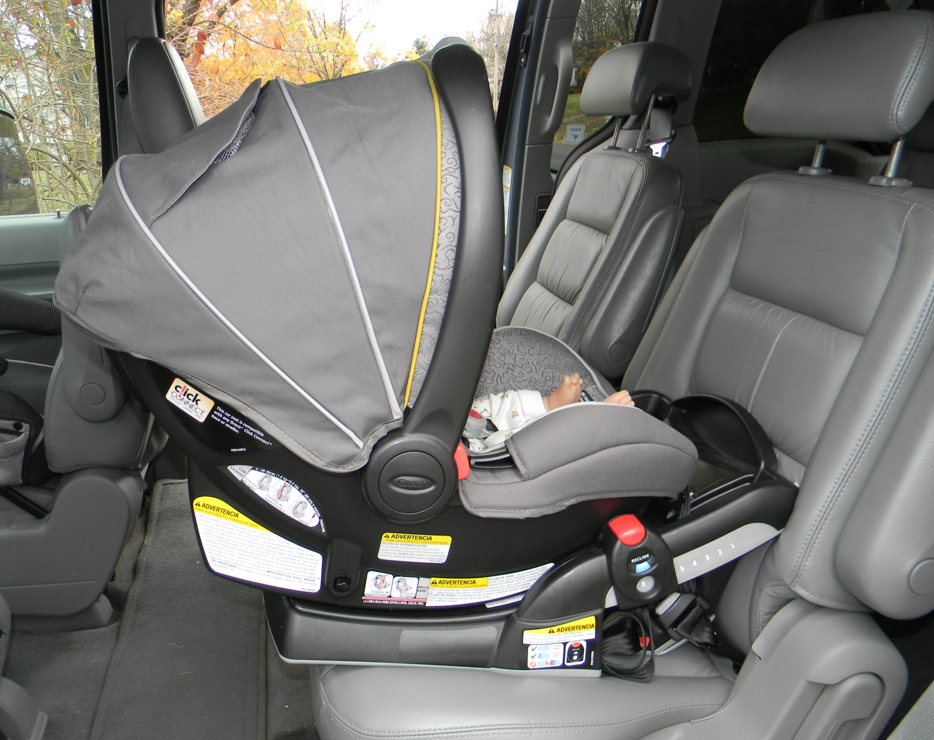 The Graco SnugRide 40 Click Connect Infant Carseat
