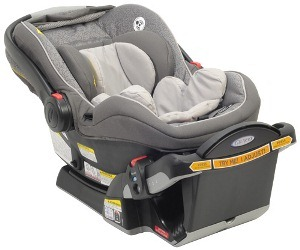 Graco Snugride Click Connect  Infant Car Seat In Knight