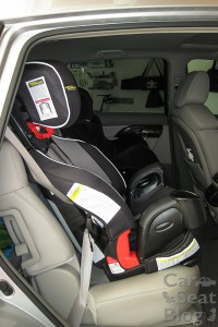 Nautilus seatbelt install