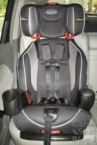 Nautilus seatbelt install front