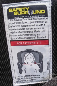 Nautilus wings proper fit label