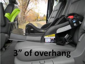 SR40 - acceptable overhang