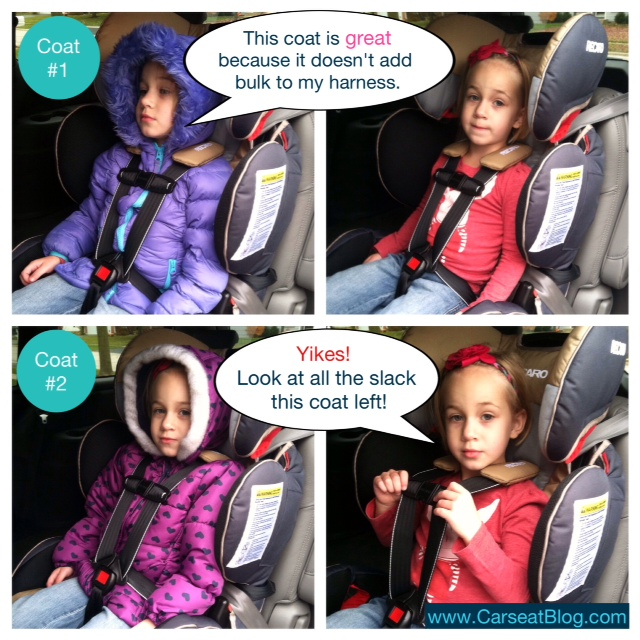 No Coats In Car Seats Video