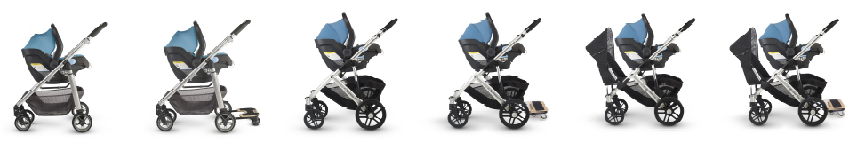 Uppababy Mesa and Vista TS