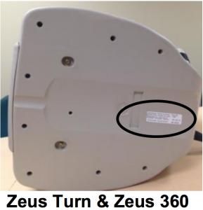 Zeus DOM label