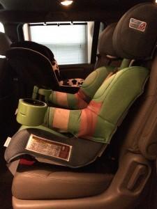 recline down installed