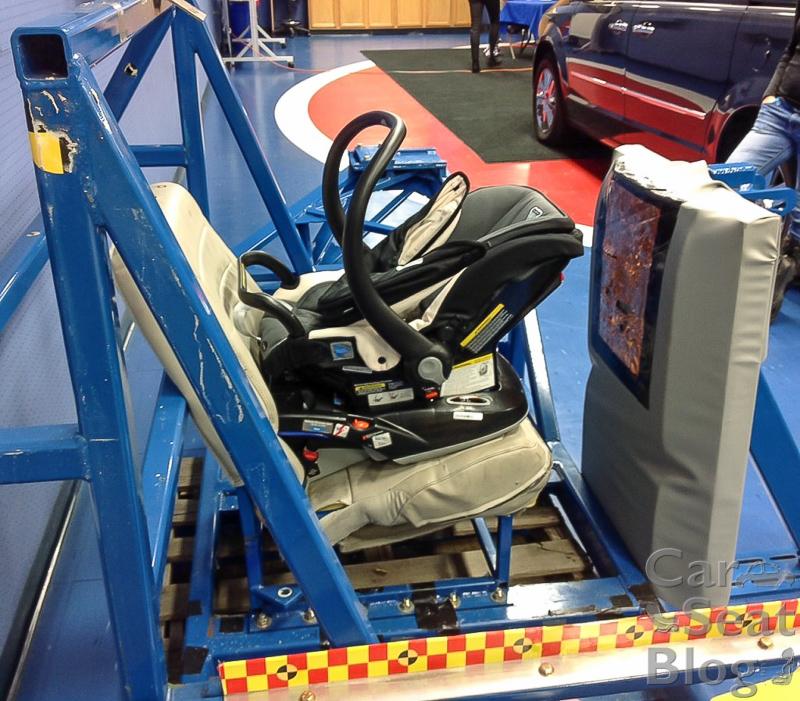 Sled Crash Test Infant Car Seat