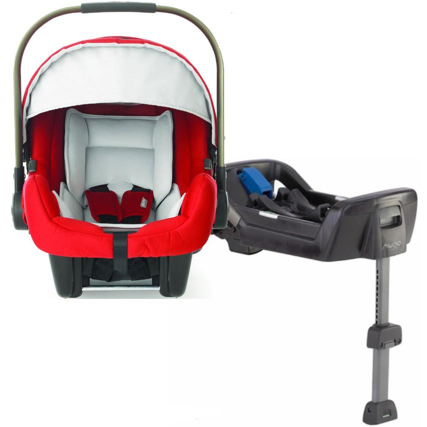 Nuna Pipa Infant Car Seat Scarlet