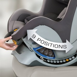 Chicco NextFit recline positions