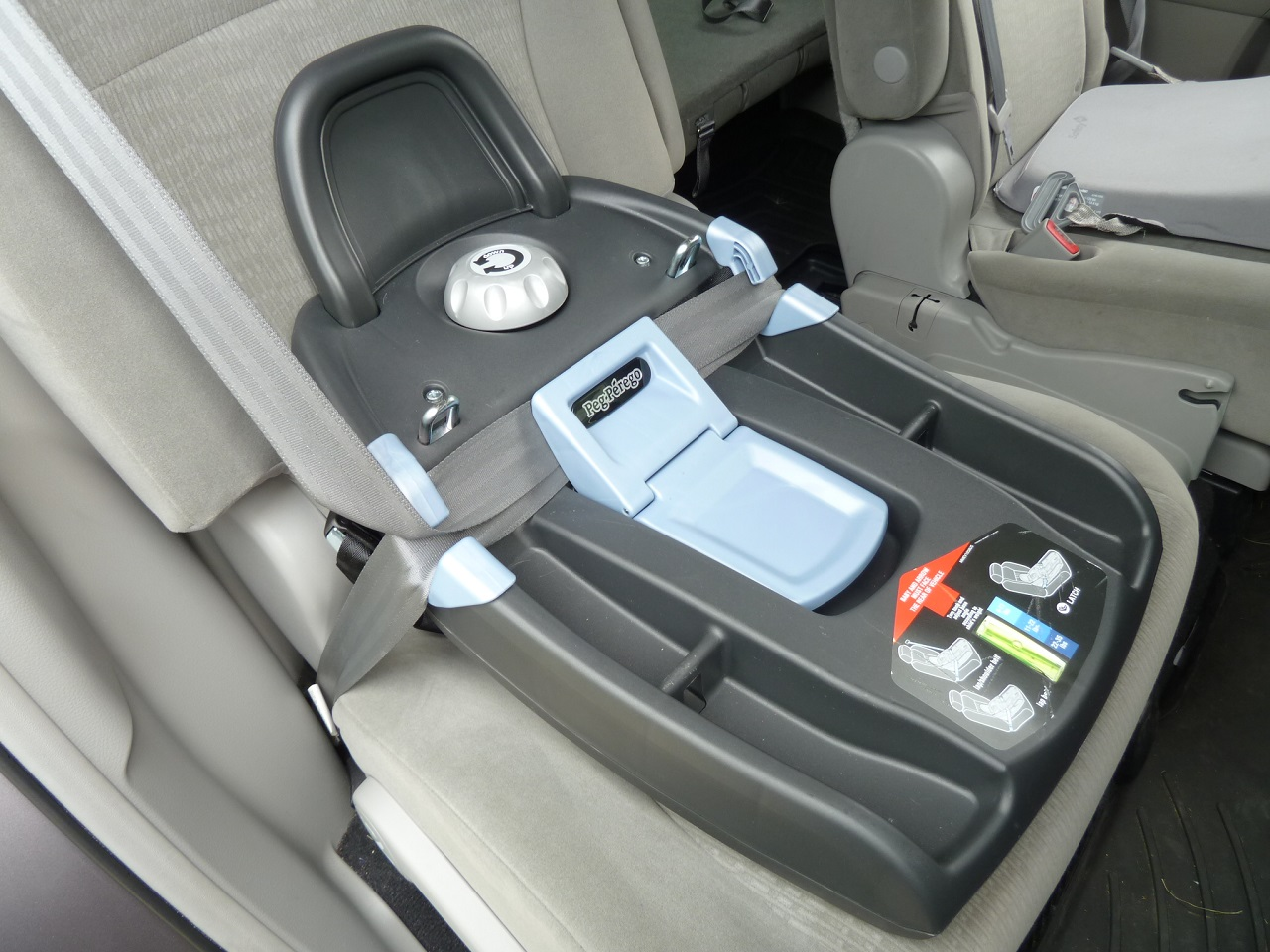 how to install baby love car seat